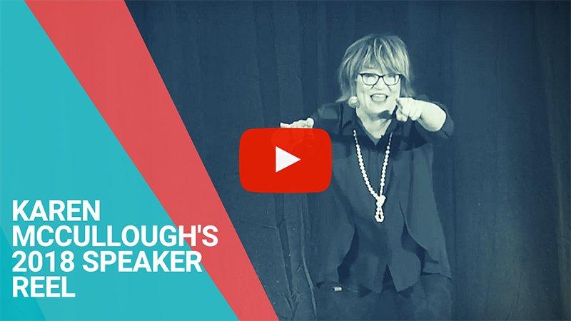 Karen McCullough's 2018 Keynote Speaker Sizzle Reel