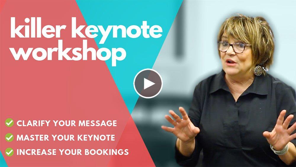 Karen's Killer Keynote Writers Workshop –March 22, 2019