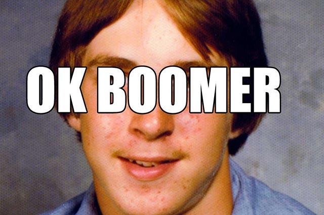 OK Boomer Meme goes viral