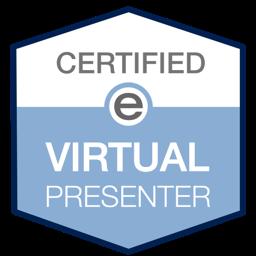 Karen McCullough, Certified Virtual Presenter